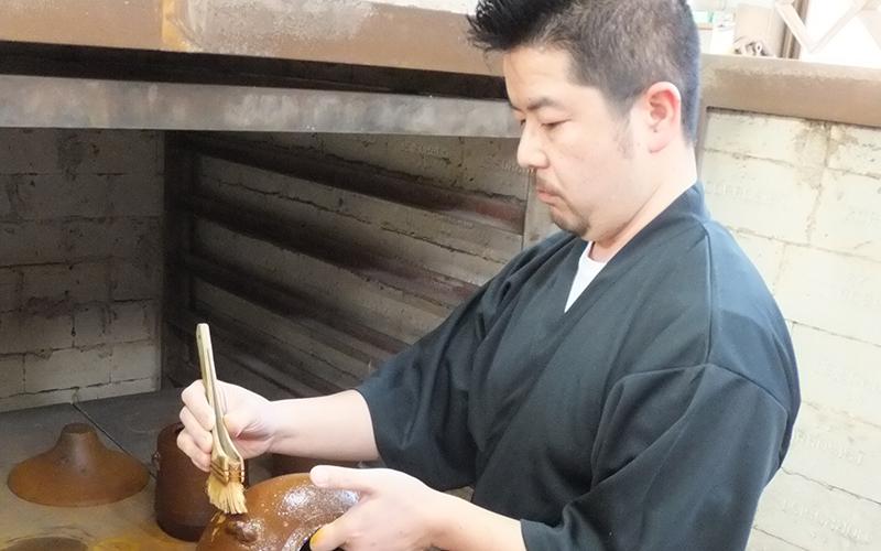 長野新 釜師